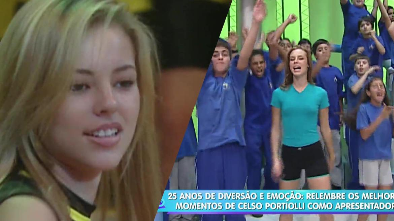 Paolla Oliveira ganha destaque em homenagem à Celso Portiolli no Domingo Legal (montagem: Fashion Bubbles)