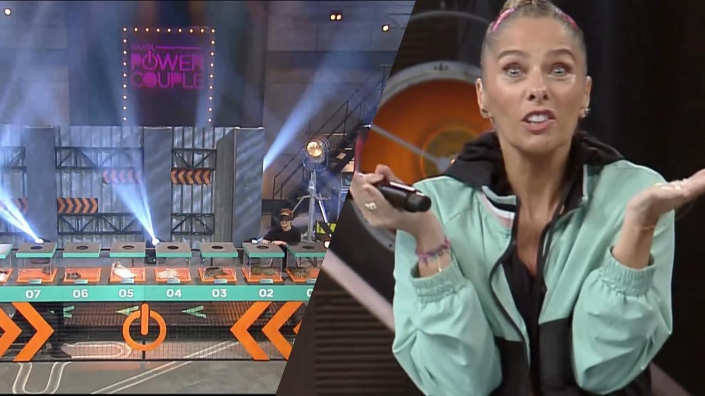 Power Couple causa pânico nas esposas na 7ª Prova das Mulheres (montagem: Fashion Bubbles)