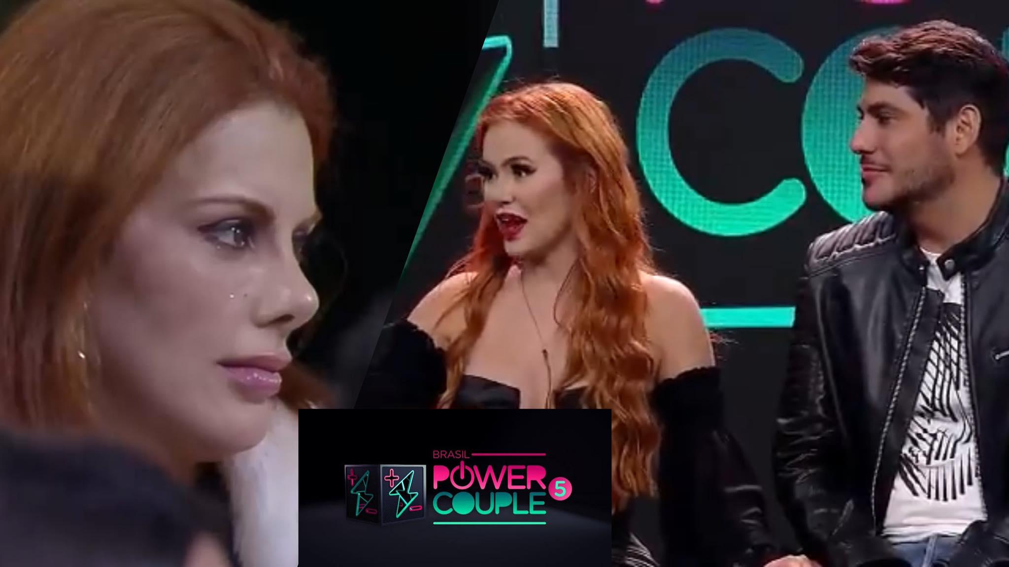 Mirela classifica Deborah como a vilã do Power Couple (montagem: Fashion Bubbles)