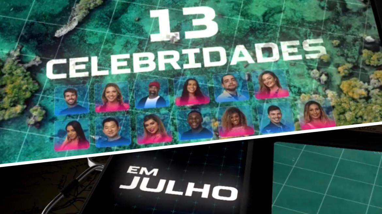 Quando começa o Ilha Record? De acordo com a emissora, o reality estreia em 25 de Julho (montagem: Fahion Bubbles)
