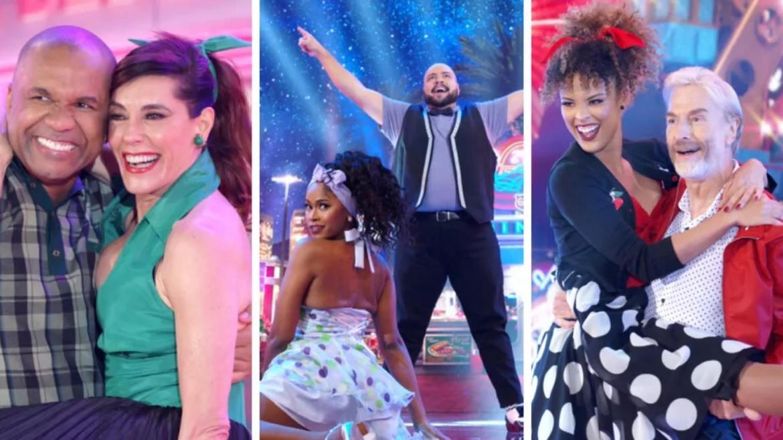 Super Dança dos famosos teve rodada marcada por homenagens à Faustão (imagem: GShow)