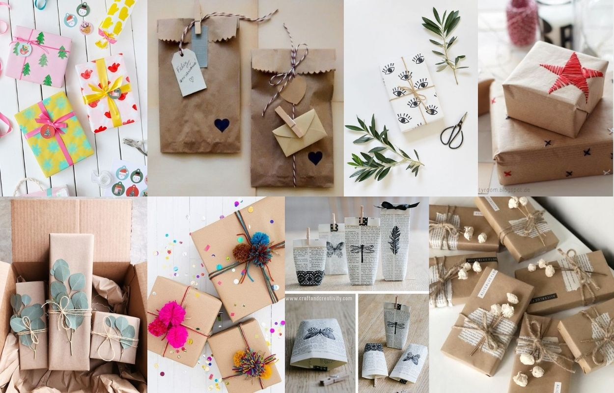 oito opções de embalagens criativas para se inspirar