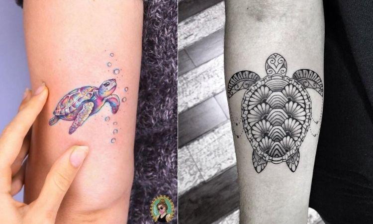 tatuagens de tartaruga marinha