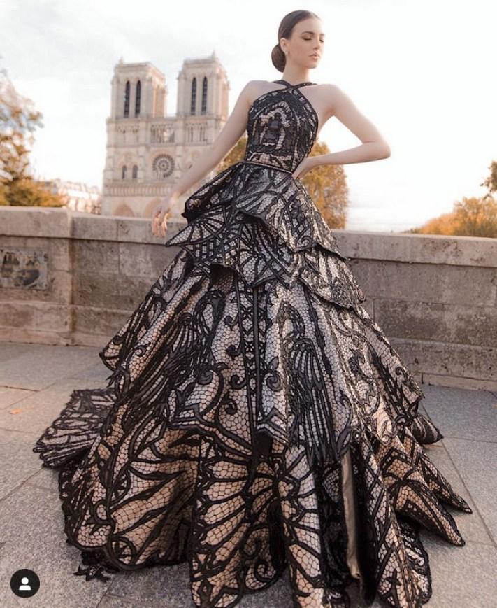 maravilhoso vestido de renda artesanal Ivanildo Nunes