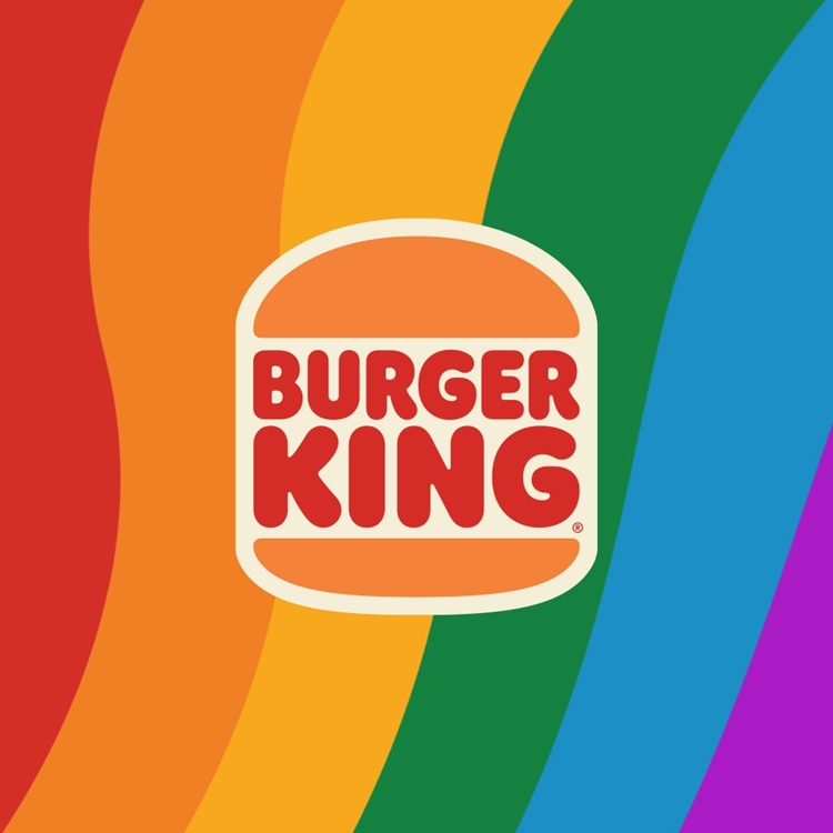 Foto da nova logo da Burger King Brasil.