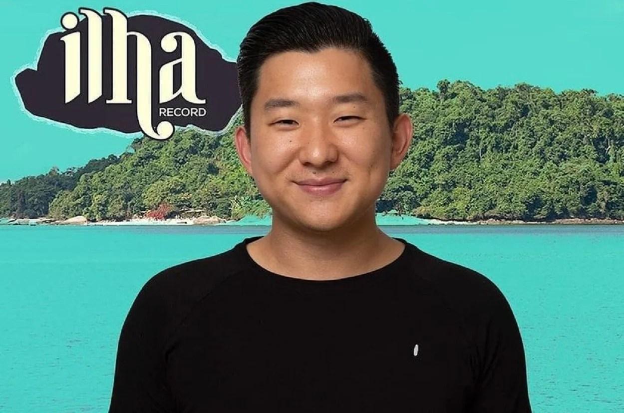 Foto de Pyong Lee, participante Ilha Record
