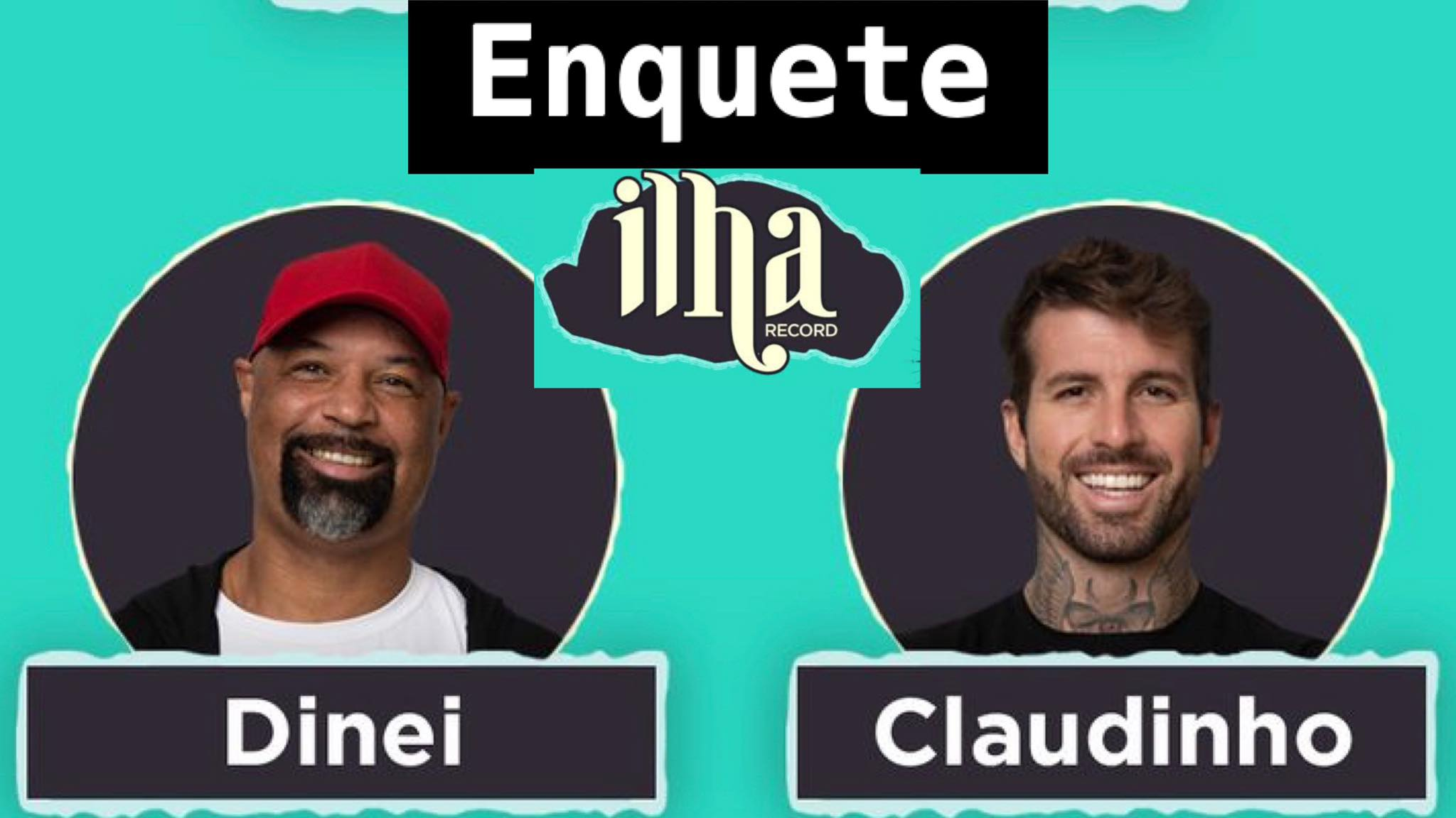 Enquete Ilha Record: Qual jogador deve ser mandado para o Exilio? Fonte: Montagem/Fashion Bubbles