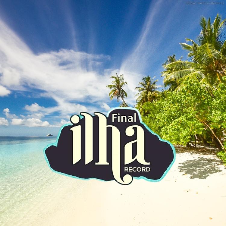 Foto da logo do Ilha Record.