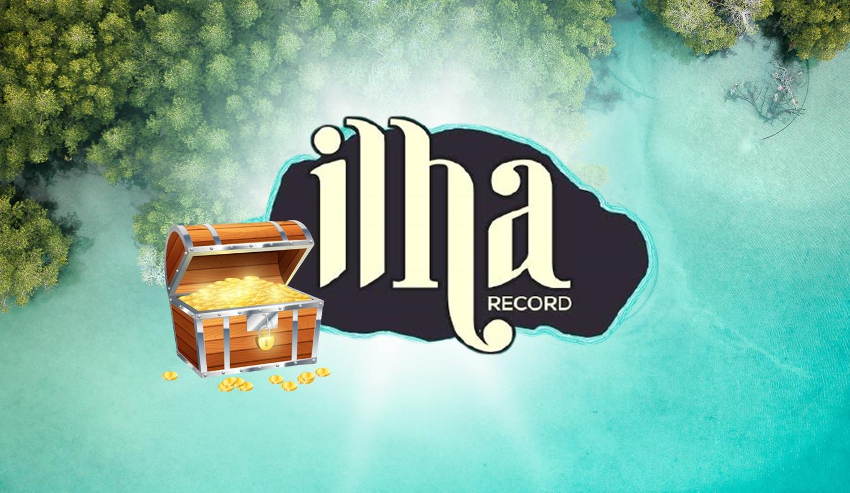 Foto da logo da Ilha Record.