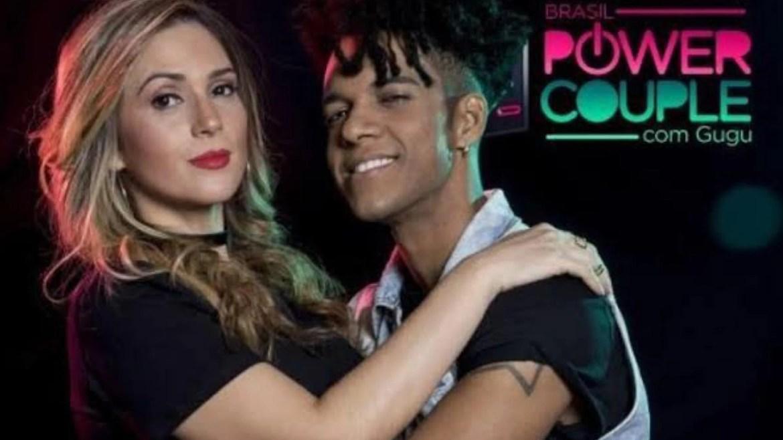 Nadja Record e D'Black integraram o elenco do Power Couple 3. Fonte: Divulgação