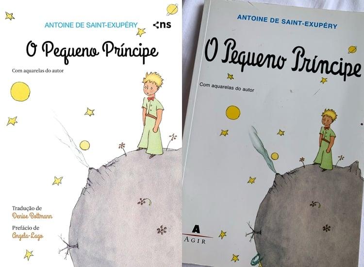 Foto do livro O Pequeno Príncipe.