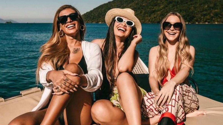 Juliette passa fds ao lado de Pocah e Carla Dias. Fonte: Instagram