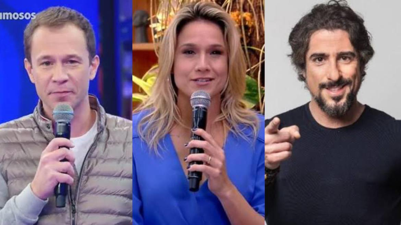 """Fernanda Gentil é o único nome confirmado para os sábados até agora. Tiago Leifert fica até setembro no """"Dança"""" e Marcos Mion ainda é uma incógnita na Globo. Fonte: Montagem/ Fashion Bubbles"""