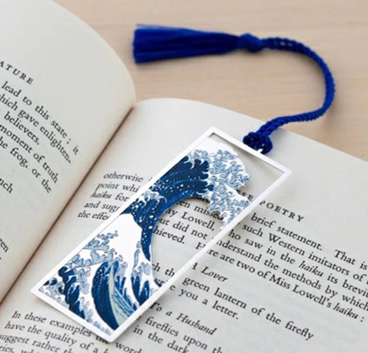 marca-páginas de oceano