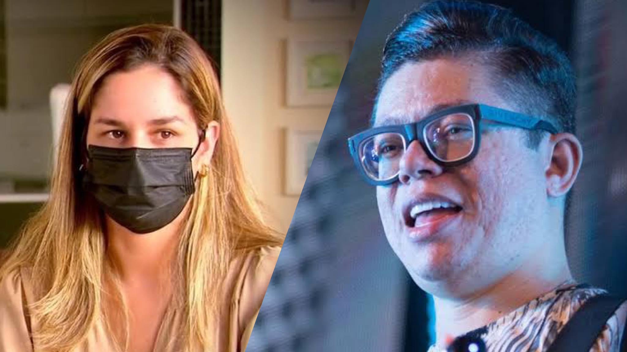 Pamella Holanda relata horrores que passou ao lado de Dj Ivis ao Fantástico. Fonte: Montagem/Fashion Bubbles