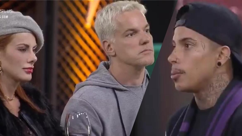 Matheus responde aos argumentos de Bruno no Power Couple (montagem: Fashion Bubbles)