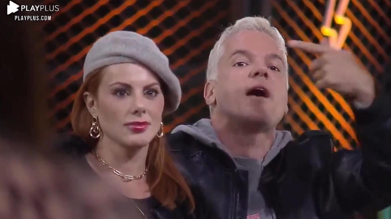 Bruno alega que Mari e Matheus se fazem de vítimas no Power Couple (imagem: reprodução)
