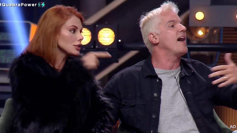 Bruno e Deborah viram alvos preferidos dos ex-participantes do Power Couple. Fonte: Reprodução/Record TV