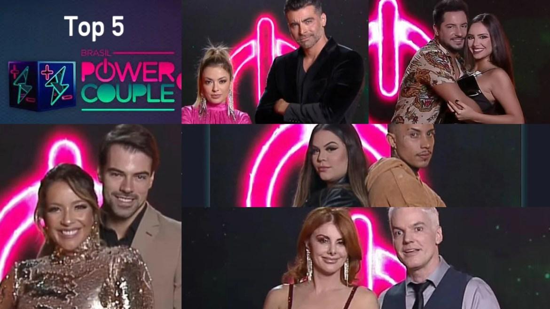 Power Couple entra na reta final com cinco casais finalistas do reality (montagem: Fashion Bubbles)
