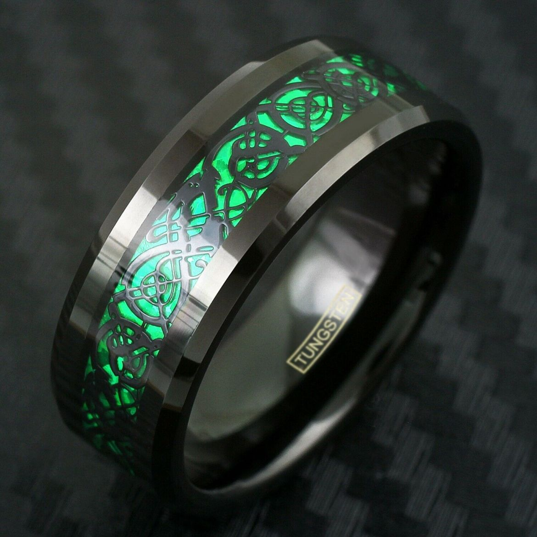anel masculino de tungstênio