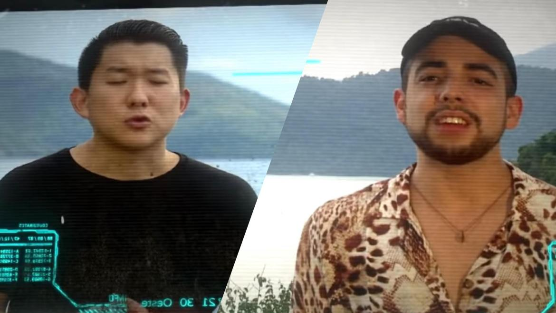 Sabrina Sato disse que Pyong Lee e Lucas Selfie vão se estranhar no Ilha Record. Fonte: Montagem/Fashion Bubbles