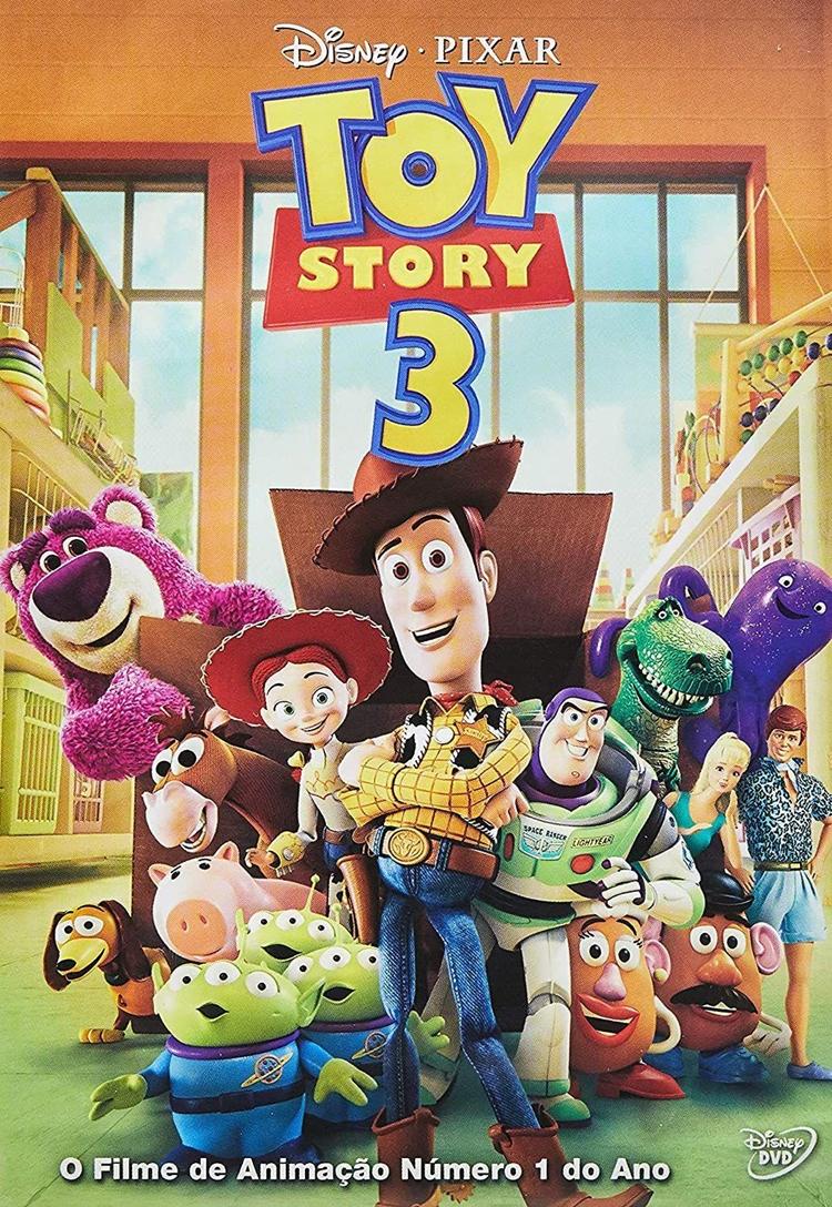 """Foto da capa do filme """"Toy Story 3""""."""