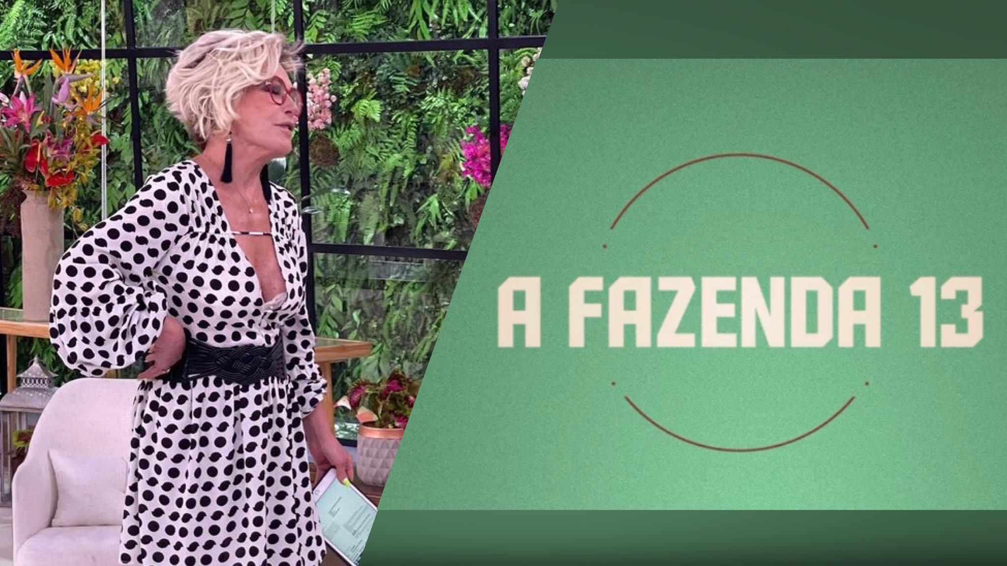 Record TV usará A Fazenda 13 contra Mais Você. Fonte: Montagem/ Fashion Bubbles