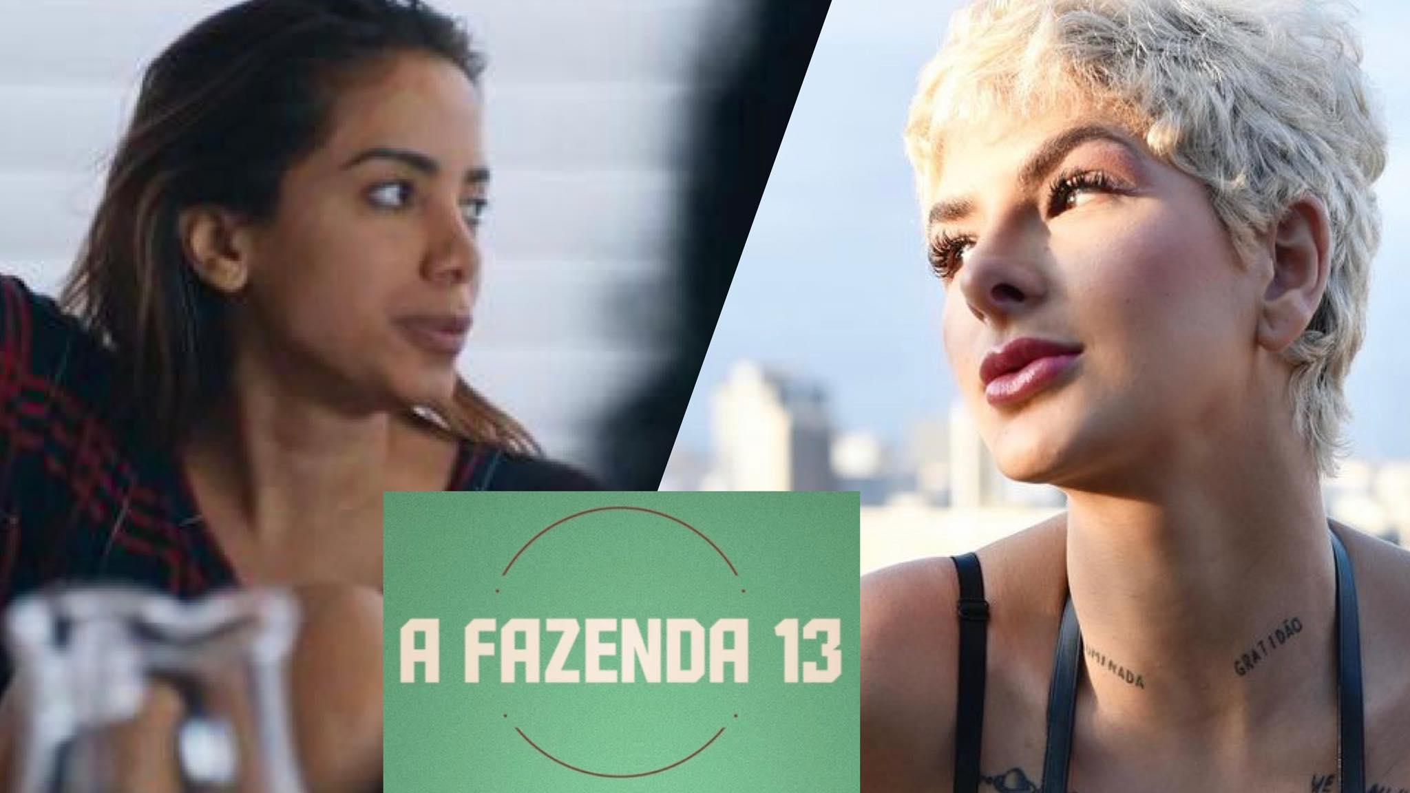 Anitta e Lary trocaram farpas nas redes sociais. Fonte: Montagem/Fashion Bubbles