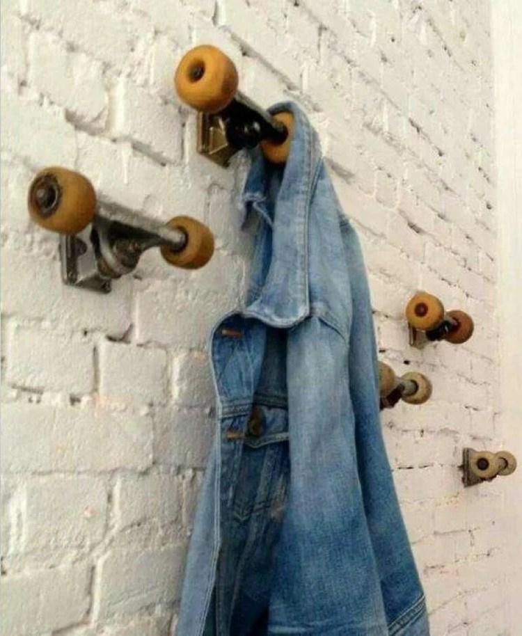Cabeideiro de skate.