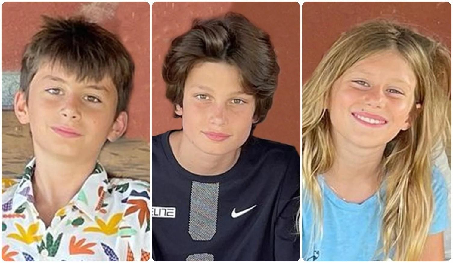 Benjamin Rein, Jake (John Edward Thomas) e Vivian Lake.