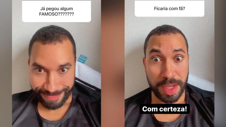 Gil do Vigor abre caixinha de perguntas para responder curiosidades dos fãs. Fonte: Montagem/ Fashion Bubbles