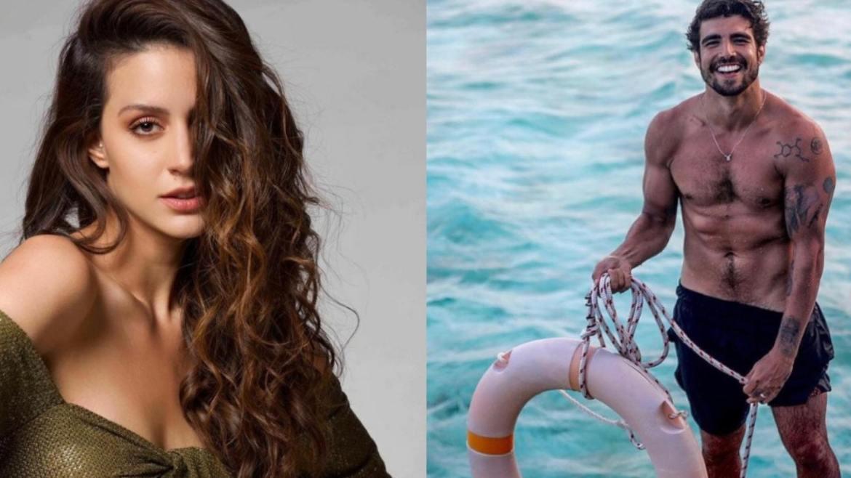 De acordo com Leo Dias, a atriz da Netflix, Larissa Bonesi é a nova affair de Caio Castro. Fonte: Reprodução