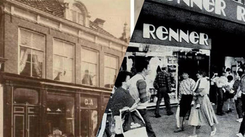 Lojas Renner foi fundada no Sul do Brasil em 1922 e em 1965 ganhou ares de loja de departamento. Fonte: Montagem/ Fashion Bubbles