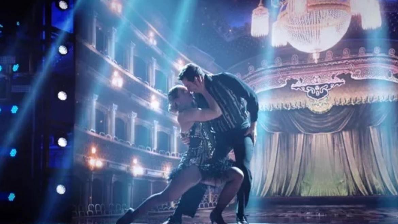 Paolla Oliveira arrasa no tango ao lado do coreógrafo, Leandro Azevedo no Super Dança dos Famosos. Fonte: GShow