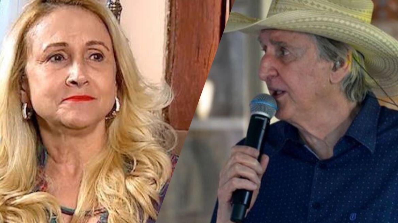 Ângela Bavini, esposa de Sérgio Reis disse que marido agiu por impulso. Fonte: Montagem/ Fashion Bubbles