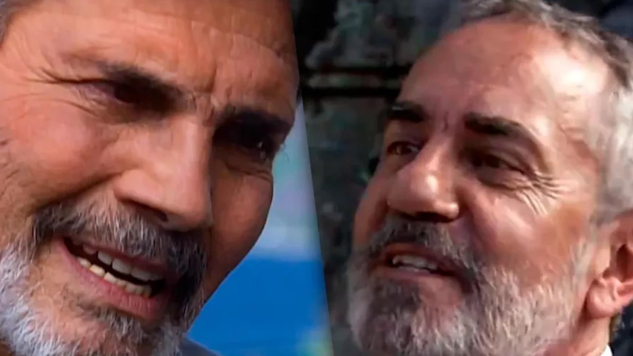 Cena de Tarcísio Meira e Paulo José, de novela de 2001 viraliza, após atores morrerem com um dia de diferença. Fonte: Reprodução