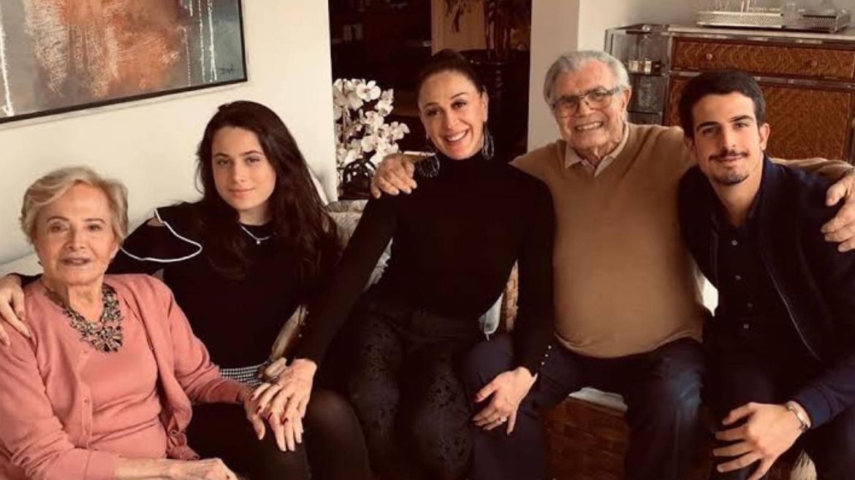 Claudia Raia disse que Tarcísio era como um avô para seus filhos. Fonte: Instagram