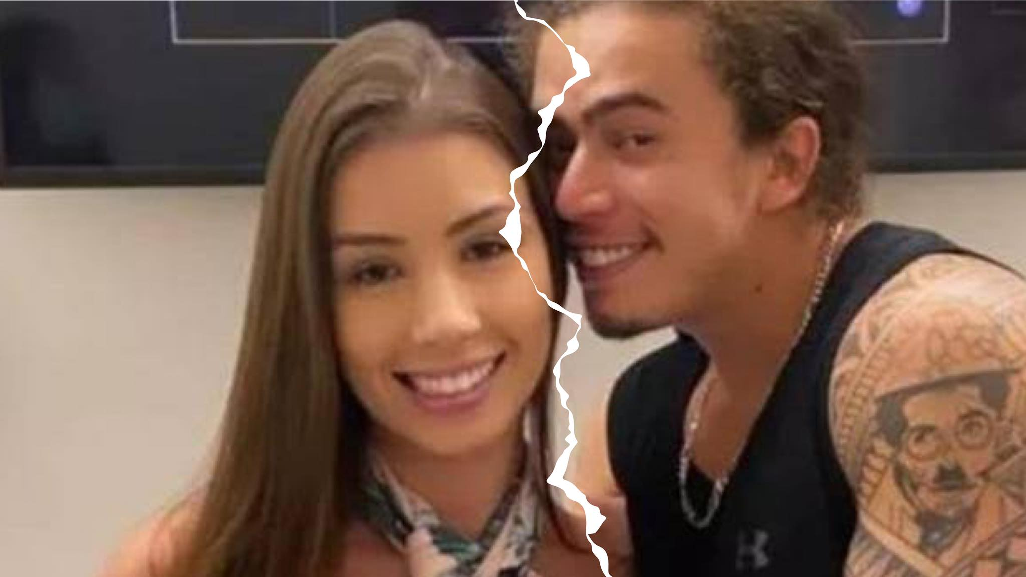 Whindersson Nunes e Maria Lina chocaram os fãs após anunciarem o término do noivado nessa sexta-feira, 13. Fonte: Montagem/Fashion Bubbles