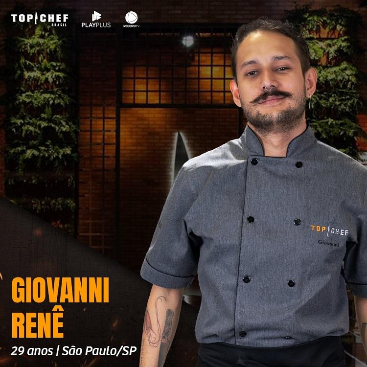 Participante Giovanni Renê, participante do Top Chef Brasil