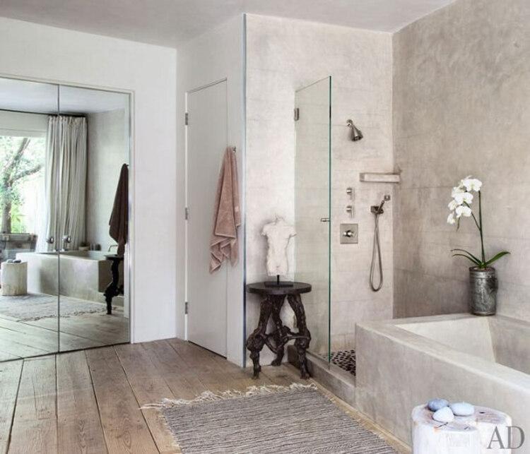 Banheiro de Patrick Dempsey