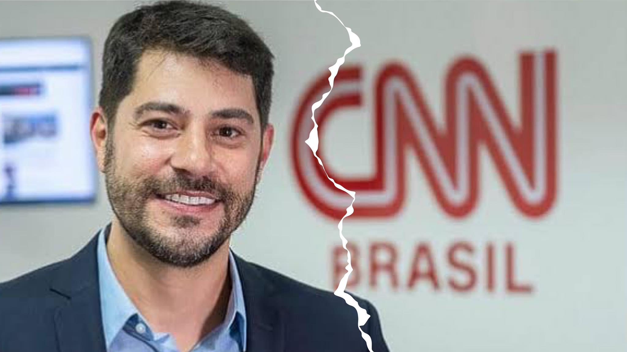 Evaristo Costa mora na Inglaterra com a família e estava na CNN desde junho de 2019. Fonte Instagram