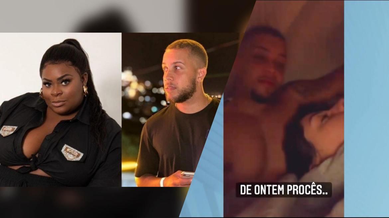 Izabelle Branquinho divulga imagens onde aparece ao lado de affair de Jojo Todynho um dia antes da entrevista. Fonte: Record TV