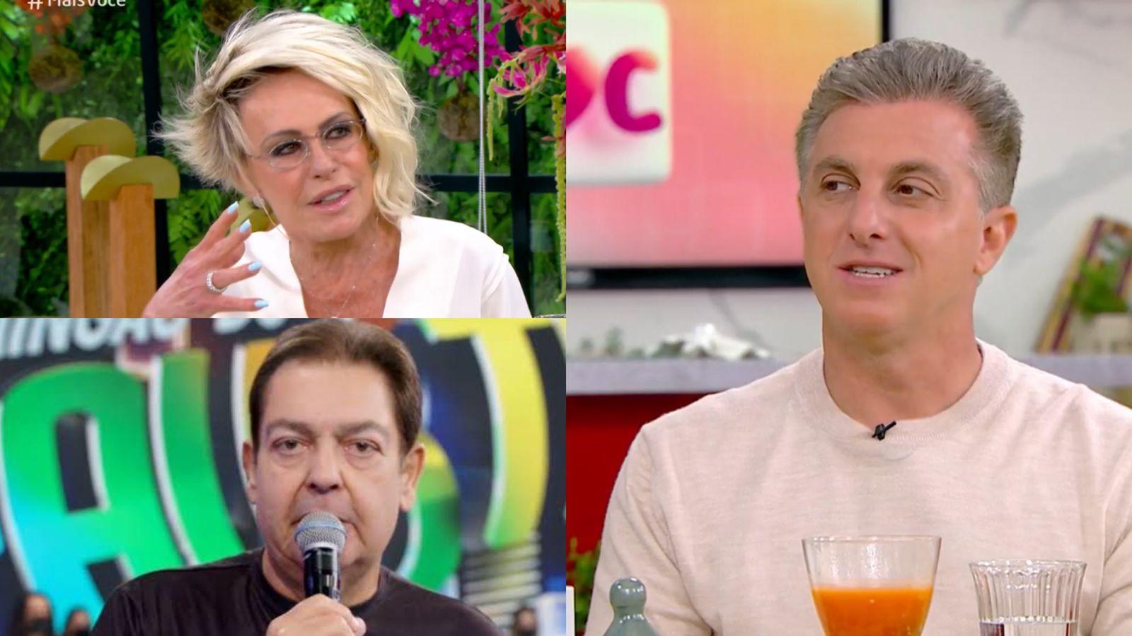Luciano Huck fala de sua estreia aos domingos no Mais Você com Ana Maria Braga. Fonte: Reprodução/ TV Globo