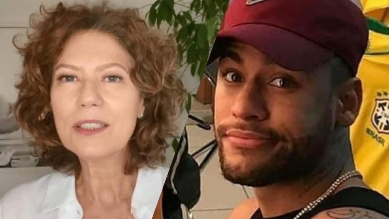 Patrícia Pillar da Globo não poupa críticas às falas de Neymar. Fonte: Instagram