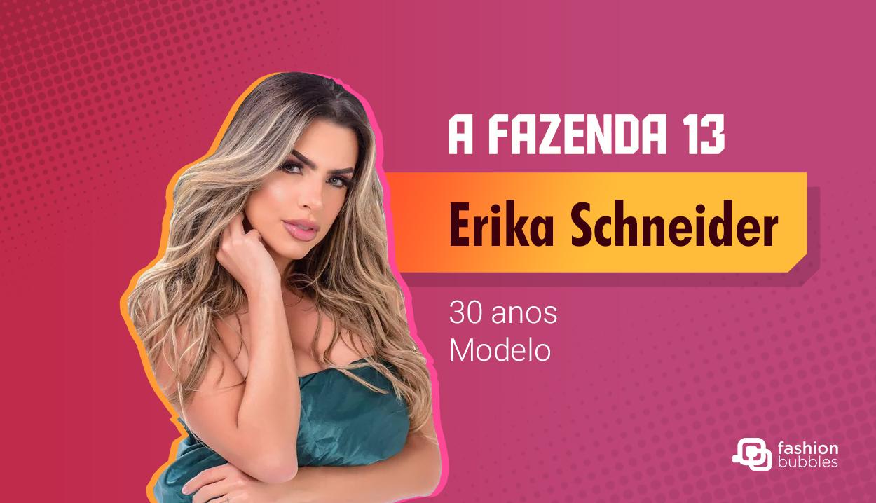 Erika Schneider - A Fazenda 13