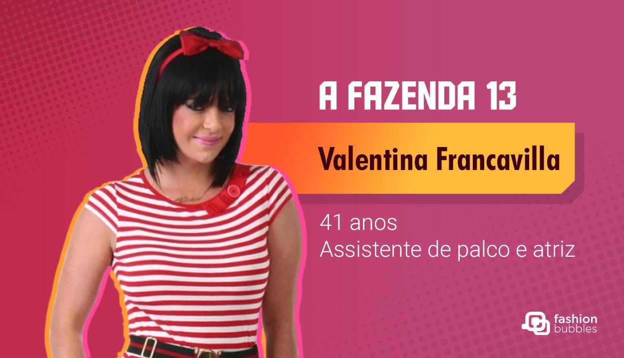 Valentina Francavilla - A Fazenda 13