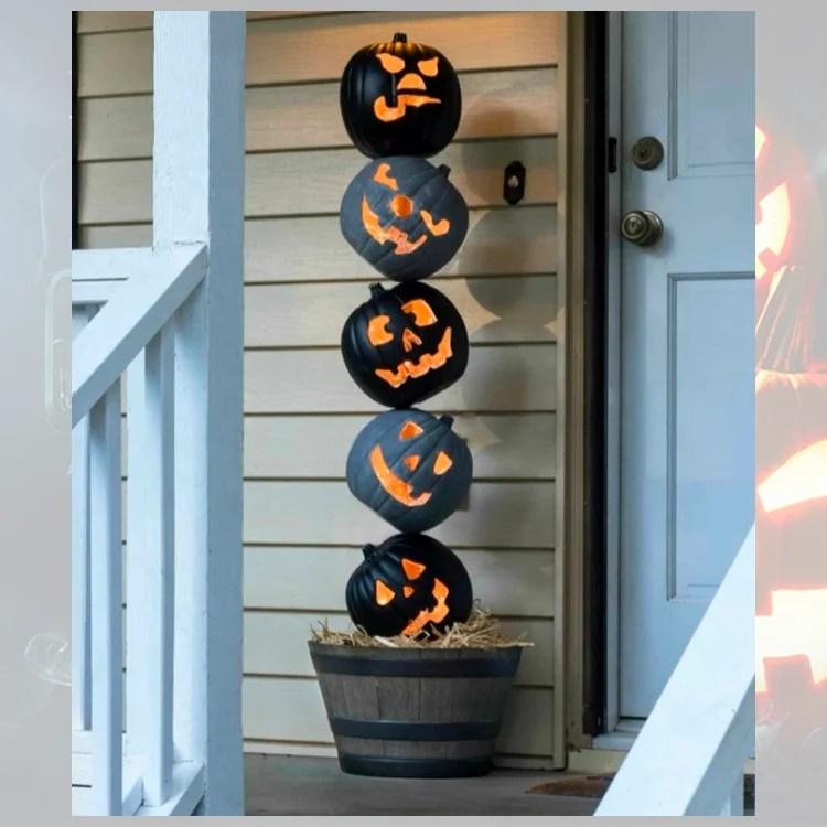 Foto de decoração para o Dia das Bruxas.