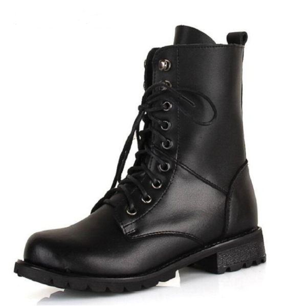 Black Ankle Boots   Yuqi – (G)I-DLE