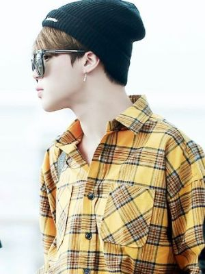 Plaid Shirt Yellow/Green | Jimin – BTS