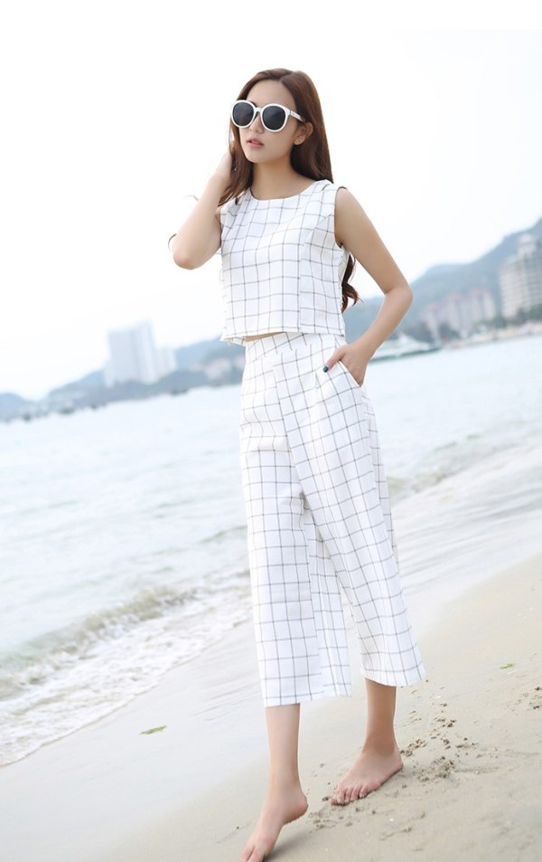 Checkered Set – Pants and Shirt